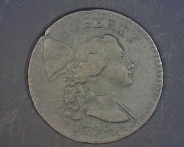 1794 Head of 1794 LIBERTY CAP LARGE CENT 1c EF40
