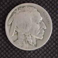 1923 BUFFALO NICKEL 5c (Nickel) F12