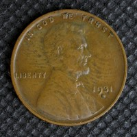 1931-D LINCOLN WHEAT CENT 1c VF35