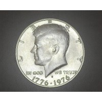 1976-S Silver KENNEDY HALF DOLLAR 50c MS64