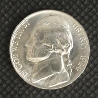 1944-P JEFFERSON NICKEL 5c (Nickel) MS64