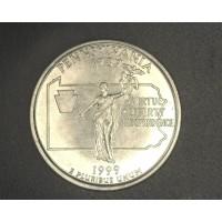 1999-P PA STATEHOOD QUARTER 25c MS64