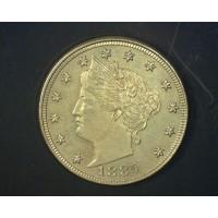 1885 LIBERTY NICKEL 5c (Nickel) MS63+