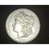 1882-O/S MORGAN DOLLAR $1 AU55