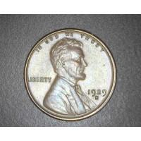 1929-S LINCOLN WHEAT CENT 1c AU50