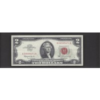 1963 $2 UNITED STATES NOTE $2 EF48