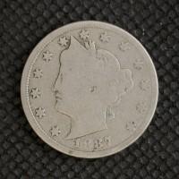 1887 LIBERTY NICKEL 5c (Nickel) G4