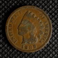 1889 INDIAN CENT 1c G4