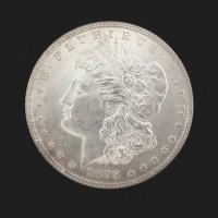 1878 7TF 3rd Rev MORGAN DOLLAR $1 MS62