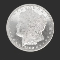 1880-S MORGAN DOLLAR $1 MS64 DMPL