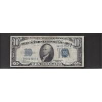 1934 $10 SILVER CERTIFICATE $10 F12