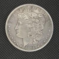 1896-S MORGAN DOLLAR $1 AU50