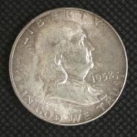 1952-S FRANKLIN HALF DOLLAR 50c MS64