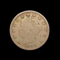 1888 LIBERTY NICKEL 5c (Nickel) F12