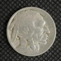 1924 BUFFALO NICKEL 5c (Nickel) VG10