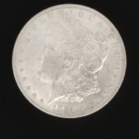 1884-O MORGAN DOLLAR $1 MS60/62
