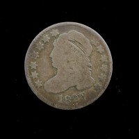 1827 CAPPED BUST DIME 10c VG/G
