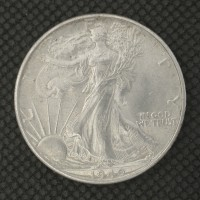 1940 WALKING LIBERTY HALF DOLLAR 50c MS64