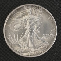 1941-D WALKING LIBERTY HALF DOLLAR 50c MS64