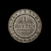 SWITZERLAND-SOLOTHURN, 1811 1B EF45 KM67