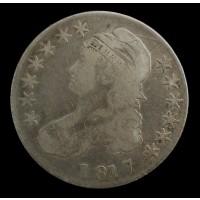 1817 CAPPED BUST HALF DOLLAR 50c F18