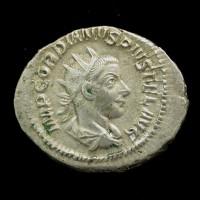 ROMAN EMPIRE, 243-44 Antoninianus EF45 Sear8612
