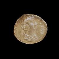 ROMAN EMPIRE, 148 Denarius VF20 Sear4578