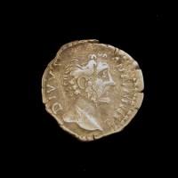 ROMAN EMPIRE, 161 Denarius VF30 Sear5192