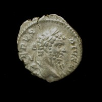 ROMAN EMPIRE, 208 Denarius EF45 Ric216
