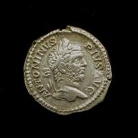 ROMAN EMPIRE, 209 Denarius EF45 Sear6869