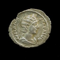 ROMAN EMPIRE, 227 Denarius EF45 Sear8217