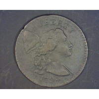 1794 Head of 1794 LIBERTY CAP LARGE CENT 1c EF40