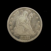1875 LIBERTY SEATED TWENTY CENT 20c G6