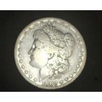 1882-O/S MORGAN DOLLAR $1 VG10