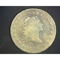 1795 DRAPED BUST/SM EAGLE  DOLLAR $1 F12