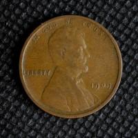 1909 LINCOLN WHEAT CENT 1c VF20
