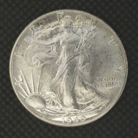 1940 WALKING LIBERTY HALF DOLLAR 50c MS65