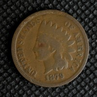 1879 INDIAN CENT 1c G4