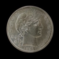 1897 BARBER HALF DOLLAR 50c MS62