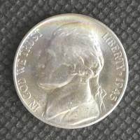 1945-S JEFFERSON NICKEL 5c (Nickel) MS64