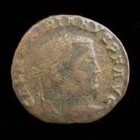 ROMAN EMPIRE, 308-11 Thessalonica Follis F12 Sear14507