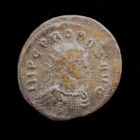 ROMAN EMPIRE, 280 Siscia Antoninianus VF20 Sear12000
