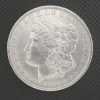 1884-O MORGAN DOLLAR $1 MS62