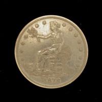 1878-S TRADE DOLLAR $1 AU50