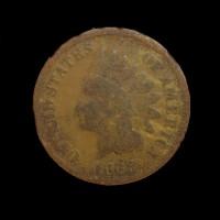 1868 INDIAN CENT 1c G4