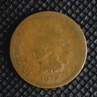 1879 INDIAN CENT 1c AG/G