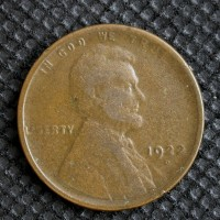 1922-D LINCOLN WHEAT CENT 1c VG8