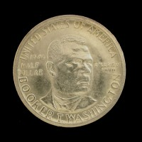 1946 Booker T Washington 1/2$ AU58