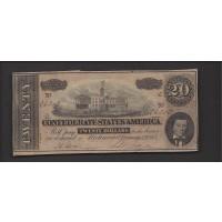 1864 Type 67 $20 MS63
