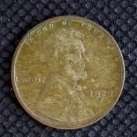 1928-S Sm S LINCOLN WHEAT CENT 1c VF/F